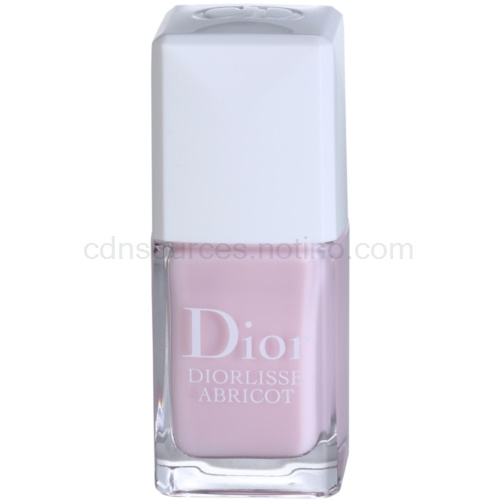 Dior Diorlisse Abricot posilující lak na nehty odstín 800 Snow Pink (Smoothing Perfecting Nail Care) 10 ml