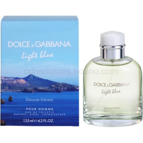 Dolce & Gabbana Light Blue Discover Vulcano Pour Homme 125 ml toaletní voda