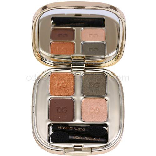 Dolce & Gabbana The Eyeshadow paleta očních stínů odstín No. 120 Mediterraneo (Smooth Eye Colour Quad) 4,8 g