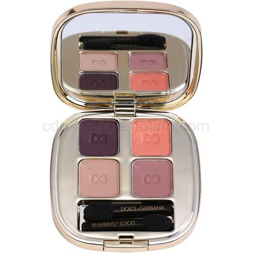 Dolce & Gabbana The Eyeshadow paleta očních stínů odstín No. 110 Nude No. 110 Nude No. 110 Nude No. 110 Nude (Smooth Eye Colour Quad 4,8 g