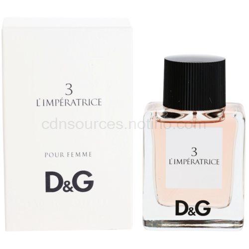 Dolce & Gabbana D&G Anthology L'Imperatrice 3 50 ml toaletní voda