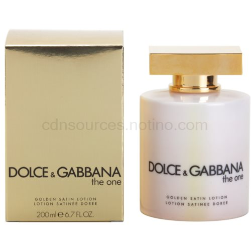 Dolce & Gabbana The One 200 ml (golden satin) tělové mléko