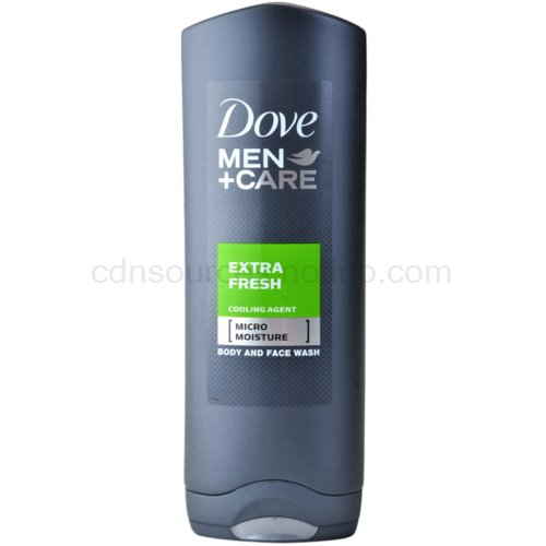 Dove Men+Care Extra Fresh sprchový gel na tělo a obličej 250 ml