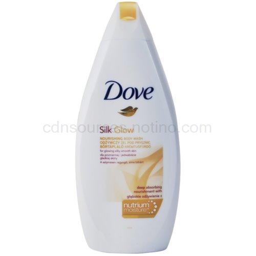 Dove Silk Glow vyživující sprchový gel 500 ml