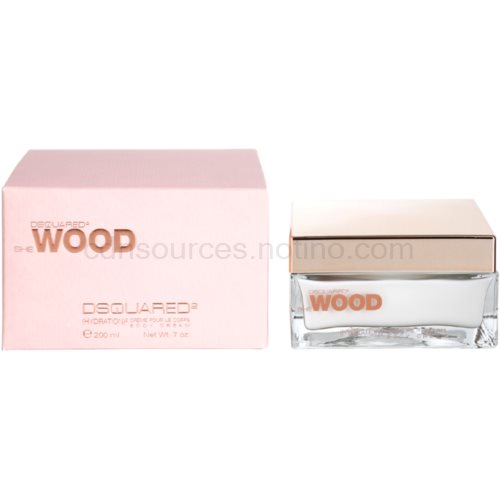 Dsquared2 She Wood 200 ml tělový krém