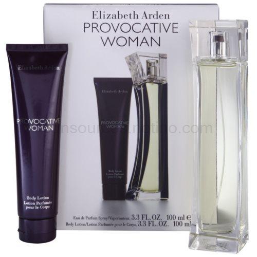 Elizabeth Arden Provocative Woman 100 ml II. dárková sada