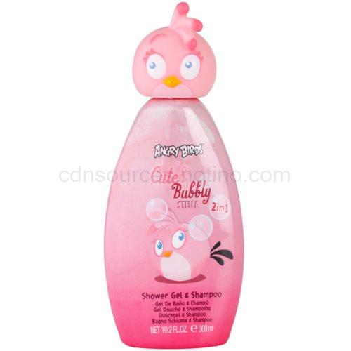 EP Line Angry Birds Cute Bubbly šampon a sprchový gel 2 v 1 300 ml