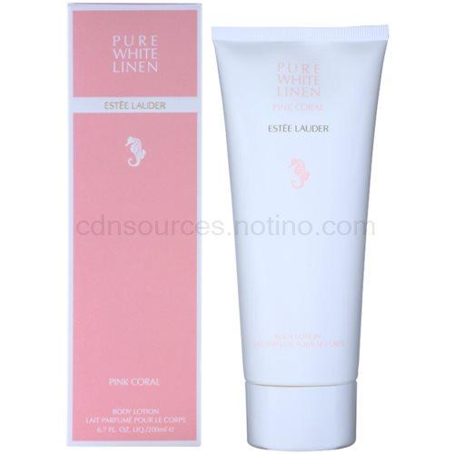 Estée Lauder Pure White Linen Pink Coral 200 ml tělové mléko