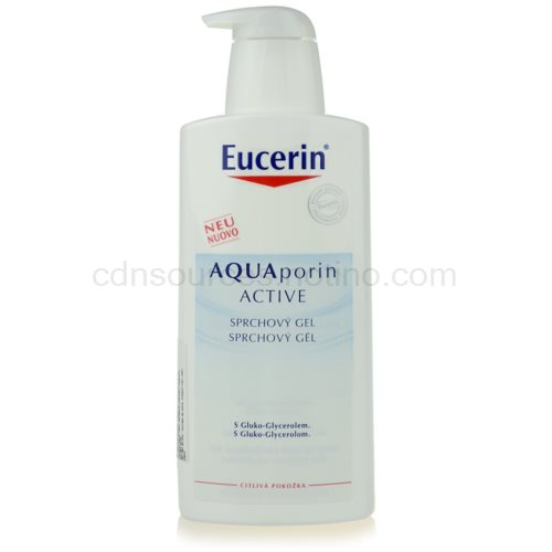 Eucerin Aquaporin Active sprchový gel pro citlivou pokožku (Shower Gel) 400 ml