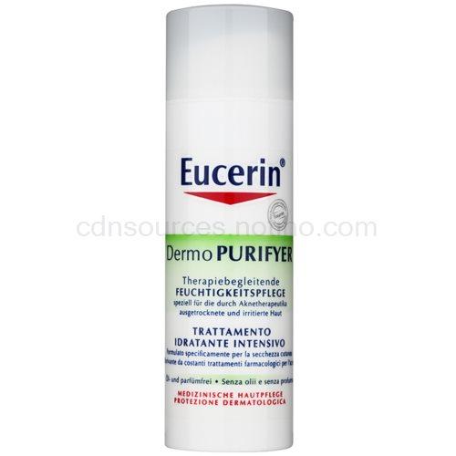 Eucerin Dermo Purifyer denní hydratační krém pro problematickou pleť, akné SPF 30 + UVA (Hydrating Care) 50 ml