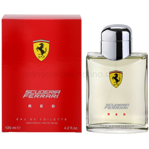 Ferrari Scuderia Ferrari Red 125 ml toaletní voda