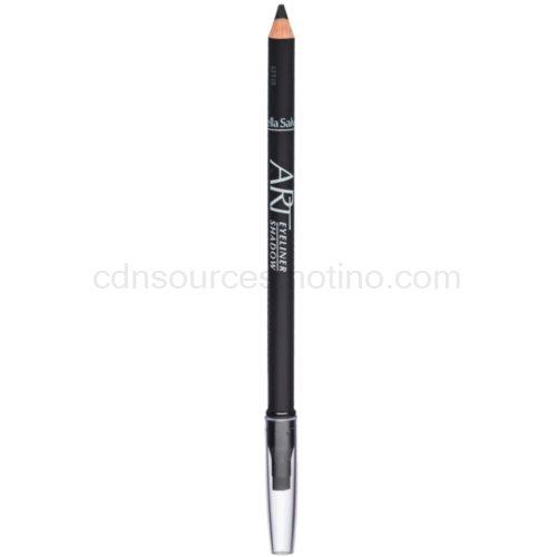 Gabriella Salvete Eyeliner Shadow tužka na oči s aplikátorem odstín Black