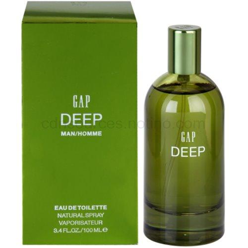 Gap Deep Men 100 ml toaletní voda