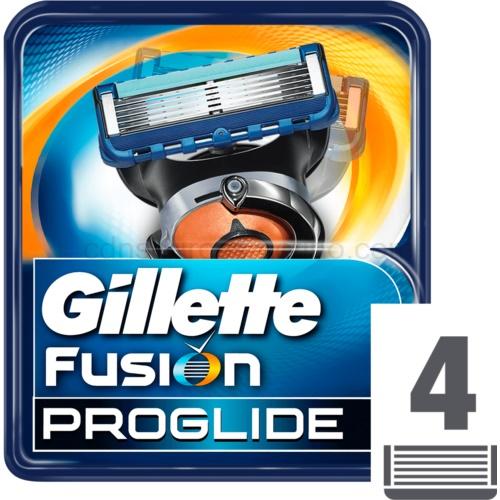 Gillette Fusion Proglide Fusion Proglide náhradní břity 4 ks
