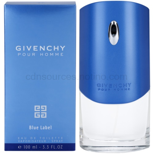 Givenchy Pour Homme Blue Label 100 ml toaletní voda