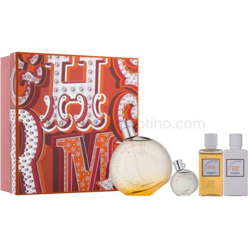 Hermès Eau des Merveilles 4 Ks dárková sada