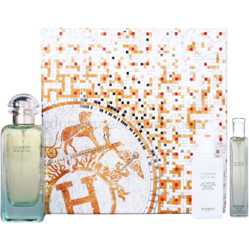 Hermès Un Jardin Sur Le Nil 3 Ks IV. dárková sada