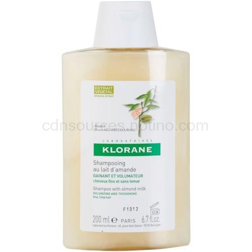 Klorane Amande šampon pro objem (Shampoo with almond milk) 200 ml