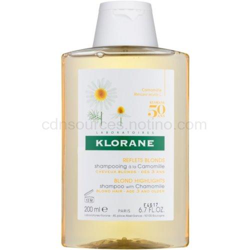 Klorane Camomille šampon pro blond vlasy 200 ml