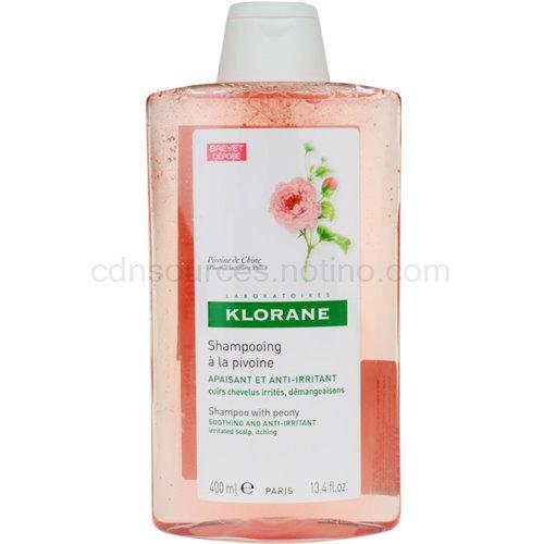 Klorane Pivoine de Chine šampon zklidňující citlivou pokožku hlavy (Shampoo with Peony) 400 ml