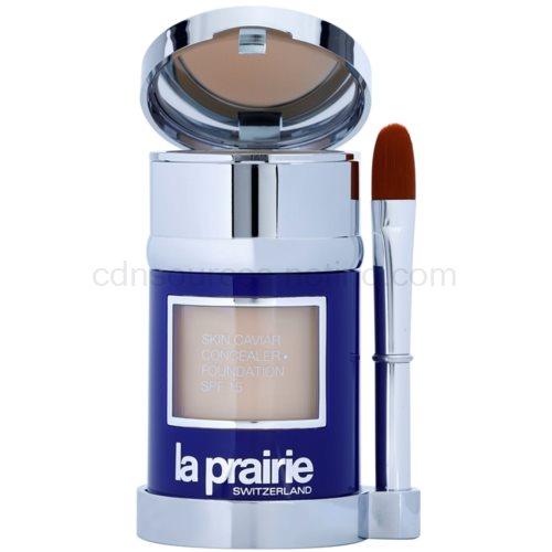 La Prairie Skin Caviar Collection tekutý make-up odstín Creme Peche (Skin Caviar Concealer Foundation SPF 15) 30 ml