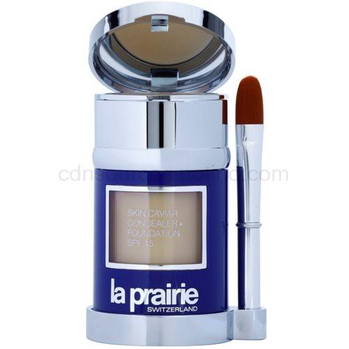 La Prairie Skin Caviar Collection tekutý make-up odstín Honey Beige (Skin Caviar Concealer Foundation SPF 15) 30 ml