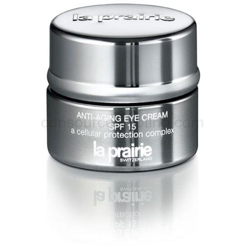 La Prairie Swiss Moisture Care Eyes oční zpevňující krém proti příznakům stárnutí (Anti-Aging Eye Cream SPF 15 a Cellular Protection Complex) 15 ml