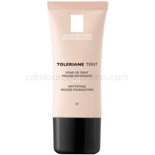 La Roche-Posay Toleriane Teint zmatňující pěnový make-up pro smíšenou a mastnou pleť odstín 03 Sand SPF 20 30 ml