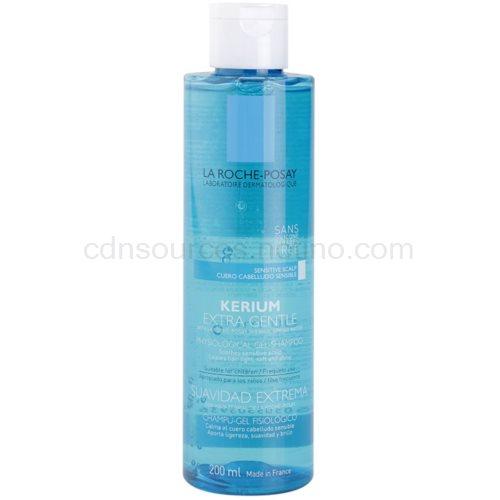 La Roche-Posay Kerium jemný fyziologický gelový šampon pro citlivou pokožku hlavy 200 ml