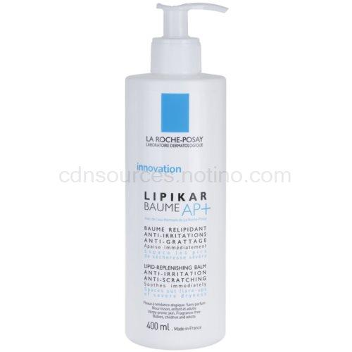 La Roche-Posay Lipikar AP+ relipidační balzám proti podráždení a svědení pokožky (Lipid-Replenishing Body Balm) 400 ml