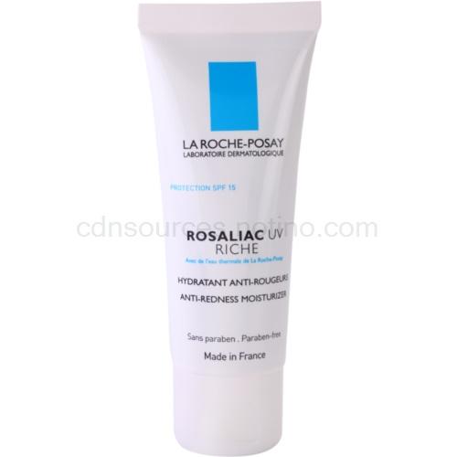 La Roche-Posay Rosaliac UV Riche výživný zklidňující krém pro citlivou pleť se sklonem ke zčervenání SPF 15 40 ml