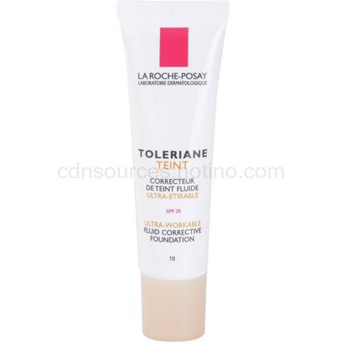 La Roche-Posay Toleriane Teint Fluide fluidní make-up pro citlivou pleť SPF 25 odstín 10 (Fluid Corrective Foundation) 30 ml