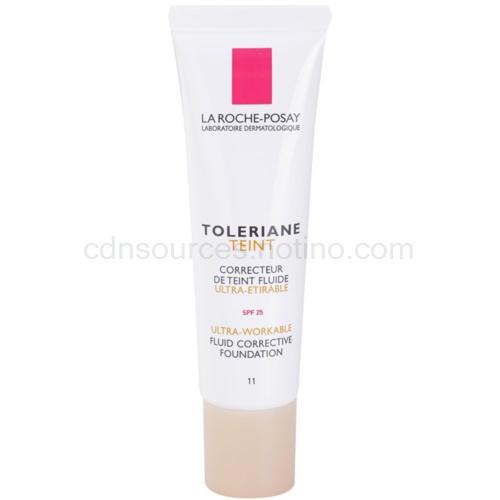 La Roche-Posay Toleriane Teint Fluide fluidní make-up pro citlivou pleť SPF 25 odstín 11 (Fluid Corrective Foundation) 30 ml