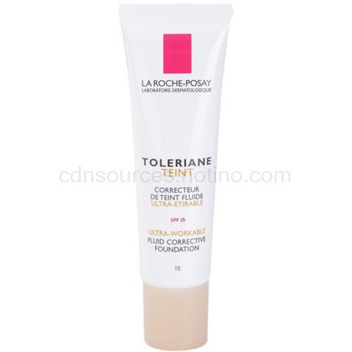 La Roche-Posay Toleriane Teint Fluide fluidní make-up pro citlivou pleť SPF 25 odstín 15 (Fluid Corrective Foundation) 30 ml