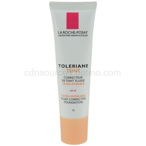 La Roche-Posay Toleriane Teint Fluide fluidní make-up pro citlivou pleť SPF 25 odstín 16 (Fluid Corrective Foundation) 30 ml