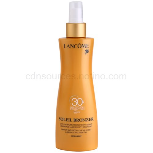 Lancôme Soleil Bronzer opalovací mléko SPF 30 200 ml