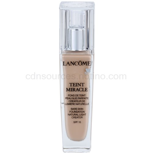 Lancôme Teint Miracle hydratační make-up pro všechny typy pleti odstín 010 Beige Porcelaine SPF 15 30 ml
