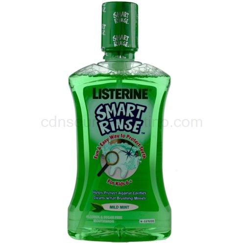 Listerine Smart Rinse Mild Mint ústní voda pro děti 500 ml