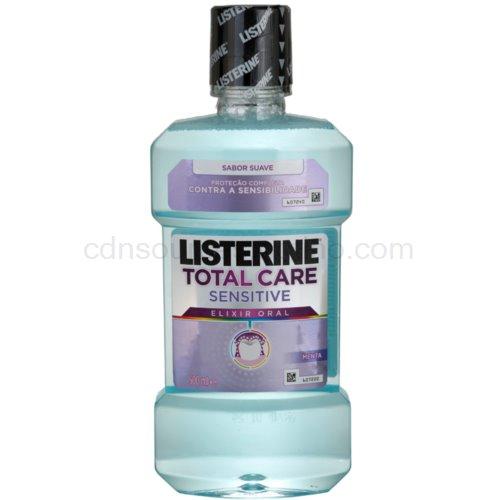Listerine Total Care Sensitive ústní voda pro kompletní ochranu citlivých zubů 500 ml