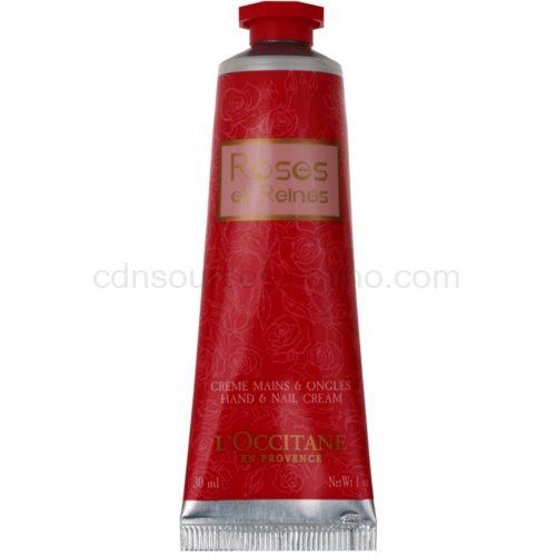 L'Occitane Rose krém na ruce s vůní růží (Hand & Nail Cream) 30 ml