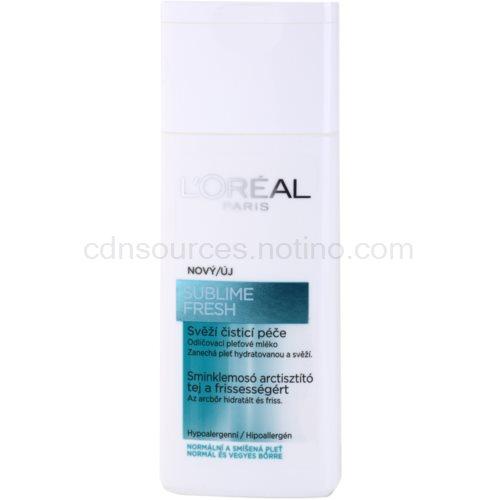 L'Oréal Paris Triple Active čisticí pleťové mléko pro normální až smíšenou pleť (Balance Cleansing Milk) 200 ml