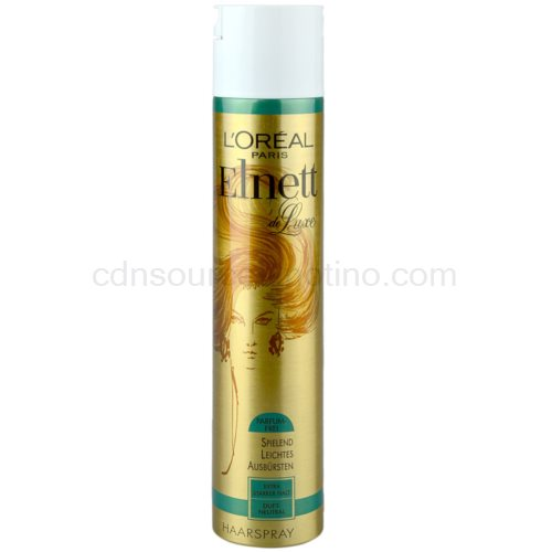 L'Oréal Paris Elnett de Luxe lak na vlasy bez parfemace 300 ml