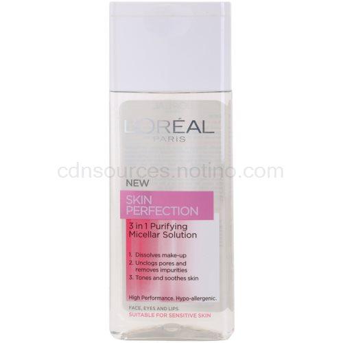 L'Oréal Paris Skin Perfection micelární čisticí voda 3 v 1 200 ml