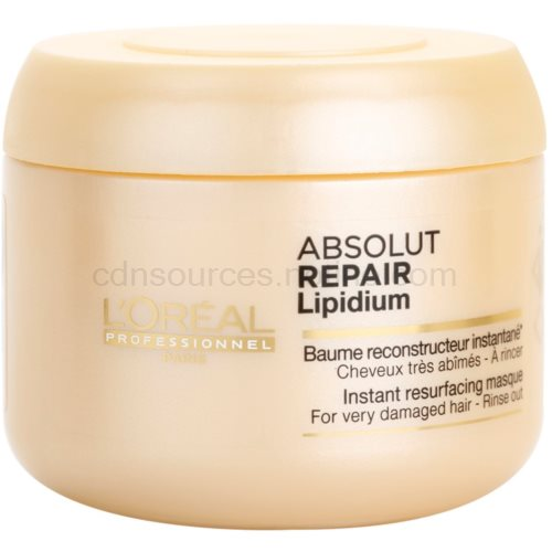L'Oréal Professionnel Série Expert Absolut Repair Lipidium regenerační maska pro velmi poškozené vlasy (Instant Resurfacing Masque for Very Damaged Ha