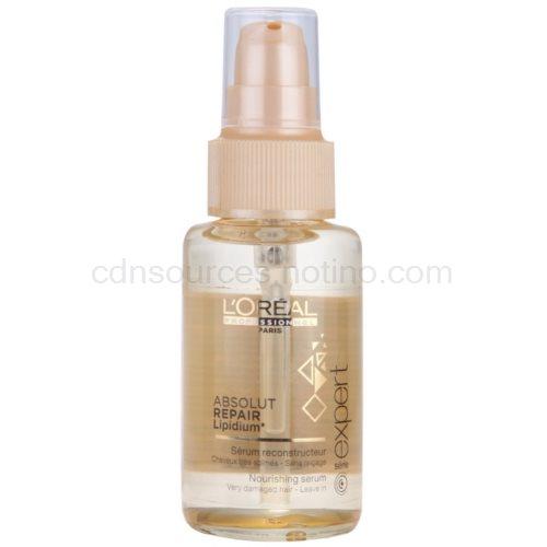 L'Oréal Professionnel Série Expert Absolut Repair Lipidium vyživující sérum pro velmi poškozené vlasy 50 ml