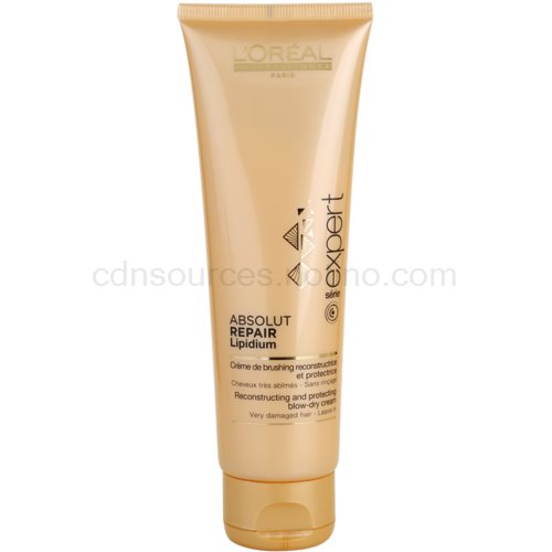 L'Oréal Professionnel Série Expert Absolut Repair Lipidium ochranný regenerační krém pro tepelnou úpravu vlasů 125 ml