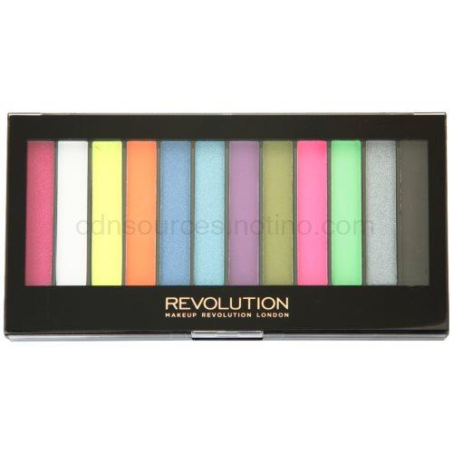 Makeup Revolution Acid Brights paleta očních stínů 14 g