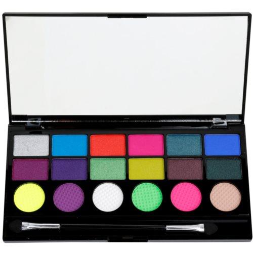 Makeup Revolution Colour Chaos paleta očních stínů 13 g