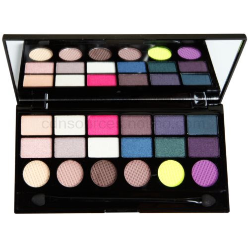 Makeup Revolution Dia De Los Muertos paleta očních stínů 13 g