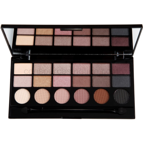Makeup Revolution What You Waiting For? paleta očních stínů 13 g